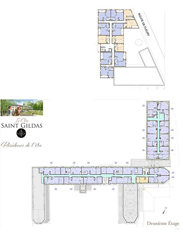 SYNOPTIQUE étage 2