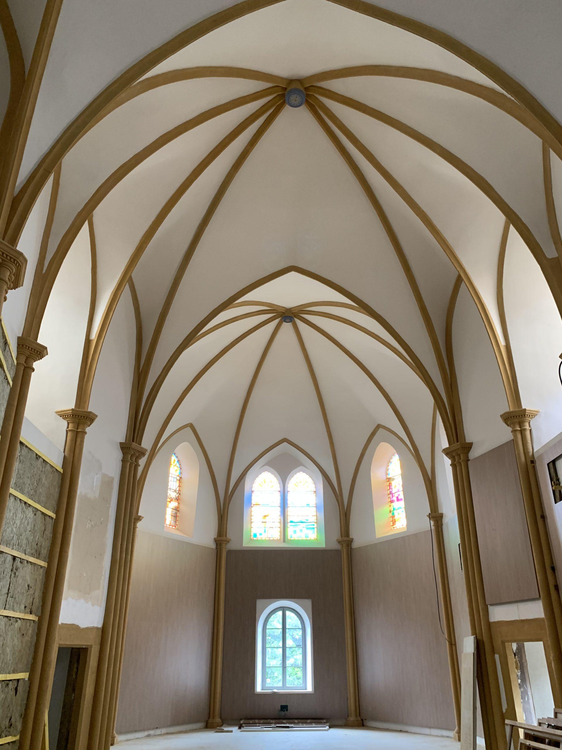 Rénovation de l'ancienne Chapelle du Clos Saint Gildas