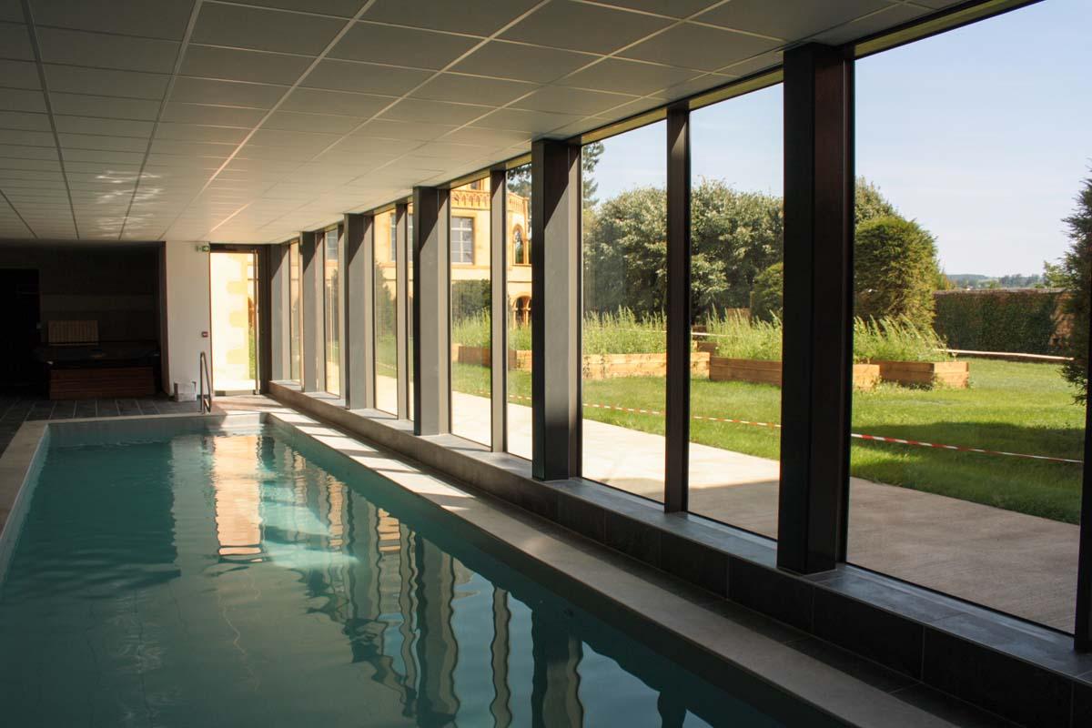 La piscine du Clos Saint Gildas